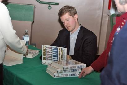 Ken Jennings at The King'sEnglish
