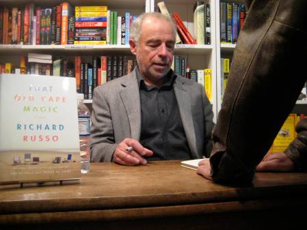 At the signing after the reading